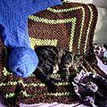 Couverture,ewa's chale et sac barjo