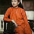 Annam, Vietnam <b>1931</b> - The daughter of Annamese royalty poses