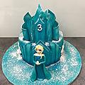 le chateau de la reine des neiges