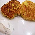Croquettes chou-fleur - reblochon