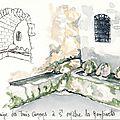 Fontaine des trois canons à St Mitre les remparts