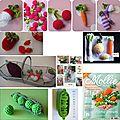 Fruits et légumes en crochet