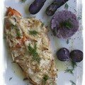 Haddock et vitelotes all blue
