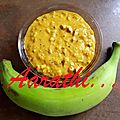 Plantain <b>Dal</b> Curry - Kaya Parippu Curry