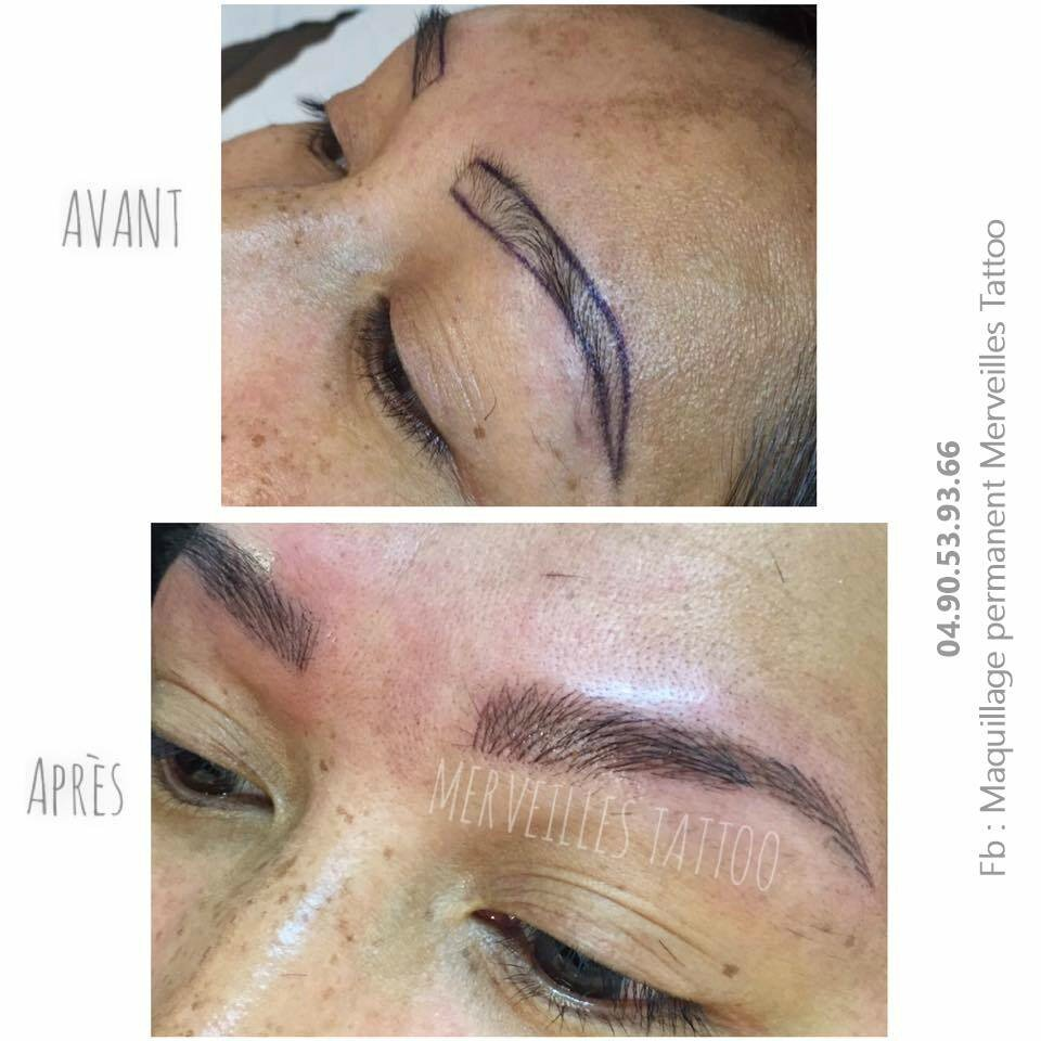 Sourcils poil à poil ultranaturel By Vanessa