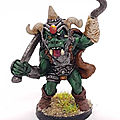Orc of the <b>Severed</b> <b>Hand</b> - Chieftain / Grenadier