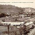 Bort-les-orgues : l'industrie du cuir d'antan ( 19 correze)