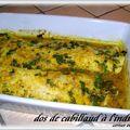 DOS DE CABILLAUD à L'INDIENNE + RECETTE DU <b>GARAM</b> <b>MASALA</b> ( recettes du chef Jean Vachon )