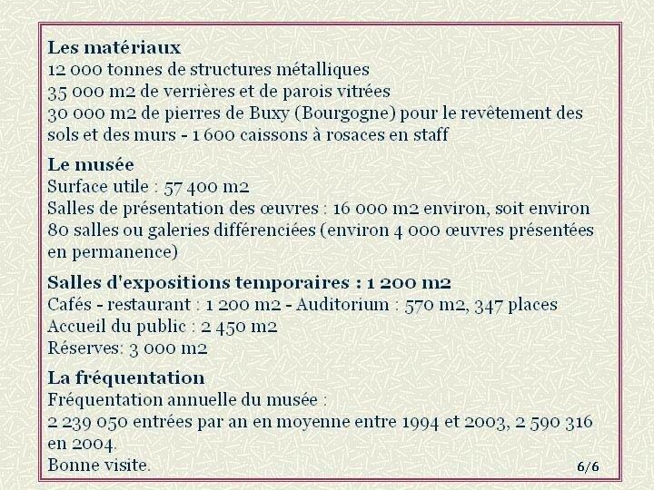 00 - Présentation du Musée d'Orsay - 6