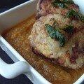 Boulettes de boeuf et sauce ratatouille