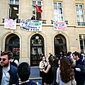 Sciences Po Paris bloquée…