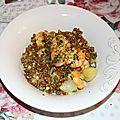 Curry de crevettes - epautre