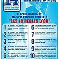 Le <b>SAHB</b> et la LNH soutiennent l'association « 14 »