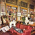 The Duke of Devonshire Taking a Nap in the Library at <b>Chatsworth</b>