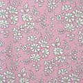 Tissu Liberty Capel rose