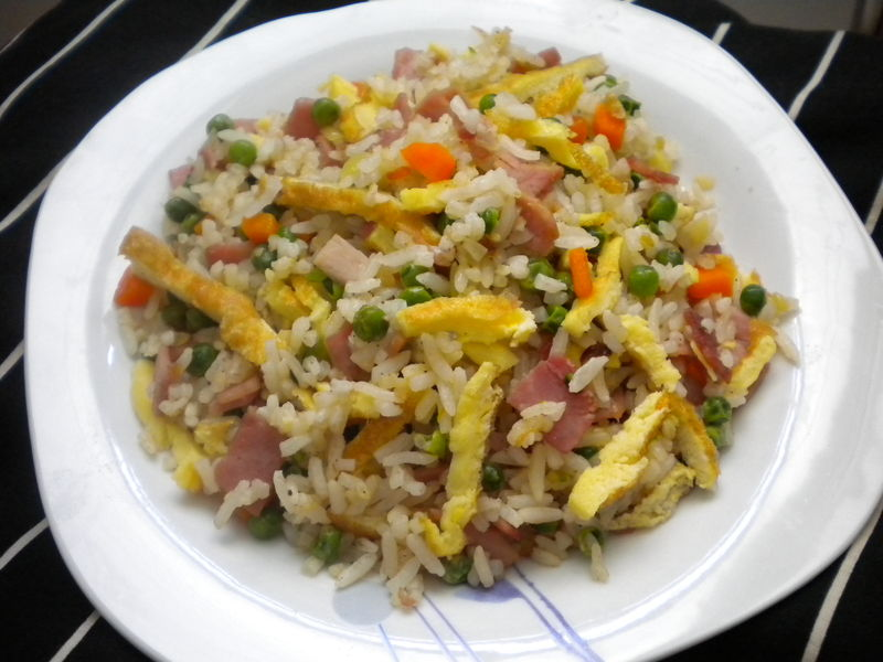 Riz cantonais (ma recette)