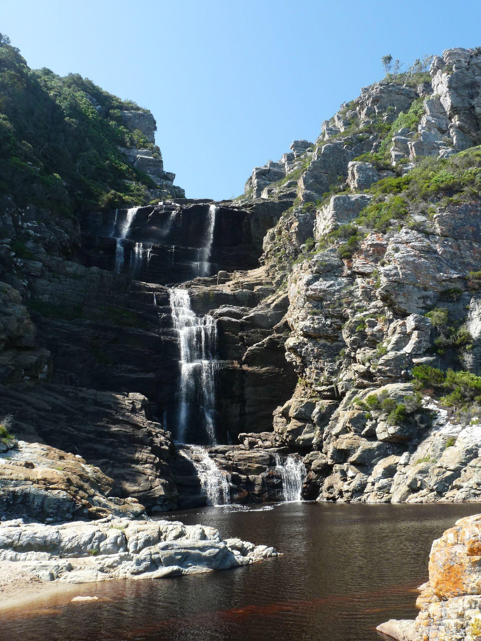 cascade de Tsitsikamma