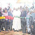 En inaugurant la Cimenterie Dangote, le PM rassure les investisseurs privés