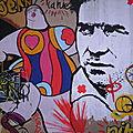 Street Art : Niki de Saint-Phalle et <b>Jean</b> <b>Tinguely</b> - Paris 11ème -