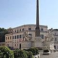 Les obélisques de <b>Rome</b> (12/28). 1786 – « Quirinale » (n°9).