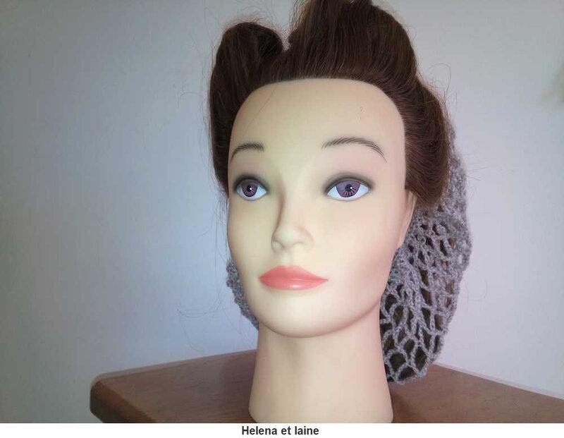Snood hair gris5