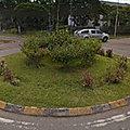 Rond-point à Tawau (Ile de <b>Bornéo</b>)