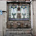 Barcelone, fontaine_5588