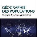 Population, démographie du monde
