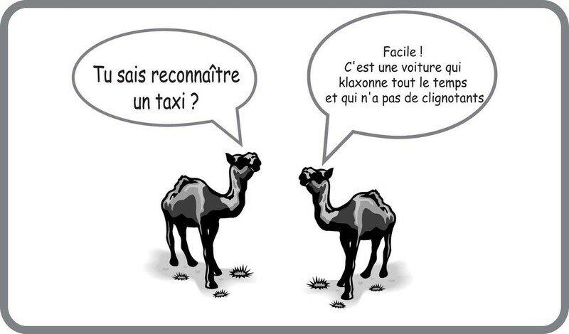 Les célèbres taxis