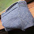 Gilet d'alice au tricot...