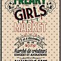 Les 7 & 8 décembre à lille, la freaky girl market