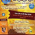 Premier salon du bien-etre (les z'arts zen) à villefranche (69) des 28 et 29 mai 2016
