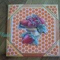 Carte n°8 coupe de fruit (sable Sandy art)