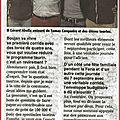 BOUJAN/LIBRON - le maire s'explique... (tant pis pour les anti-corrida !)
