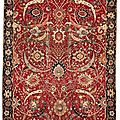 International rug expert comments on $33.7 million record price for antique oriental carpet