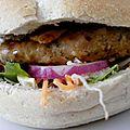 My portobello burger