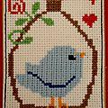 n° 687, oiseau bleu (Copier)