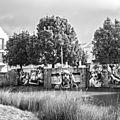 Installation photos Grands Formats au quartier l'Avant-Garde à Rochefort (17)