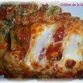 Cannellonis saumon-épinards-ricotta