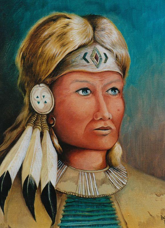 L'indien blond...