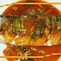<b>Recette</b> plat <b>chinois</b>: Bar à la sauce d'huître (红烧鲈鱼) et tradition culinaire pour le nouvel an <b>chinois</b> 2