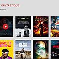 Des films de science-fiction à retrouver sur l'appli <b>Android</b> PlayVOD !