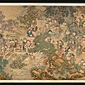 A Large Court Painting by Leng <b>Mei</b> (FL. 1700-1742), 'Children at Play'. Qing Dynasty, Yongzheng Period