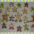 Petite récap' de mes créations noël 2009