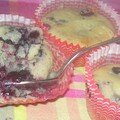 Muffins fruits rouges !