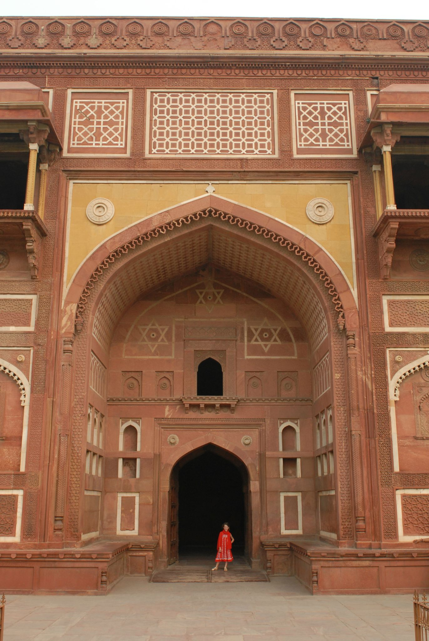 fort rouge, Agra