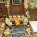 Les poteries vernissées