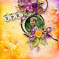 Welcome Spring - Kit by S.Designs