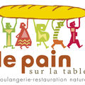 le pain sur la table