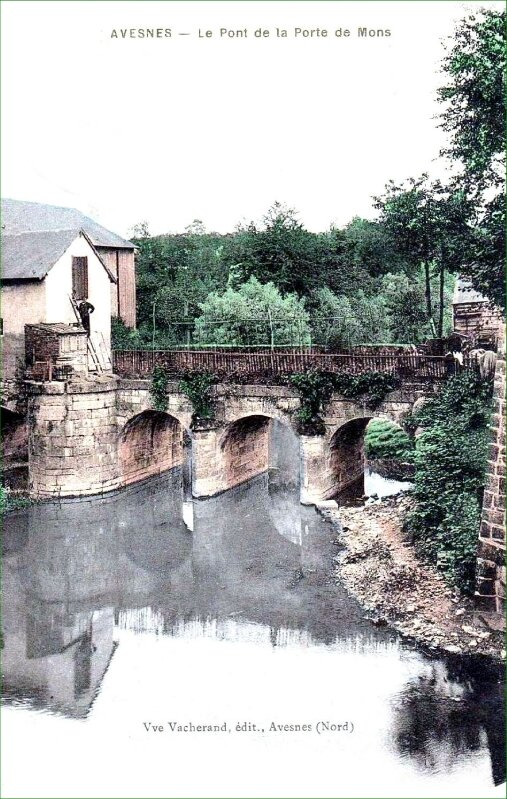 AVESNES-Pont de la Porte de Mons